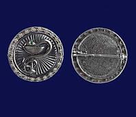 Значок Чаша со Змеей - Гиппократова Чаша, Символ Медицины, Фармацевтов, Медицинских Работников, фото 2