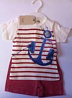 Комплект BONNE BABY Для мальчиков Футболка+шорты 371179 Flexi Турция