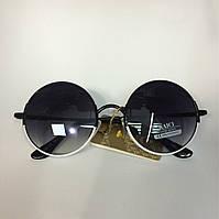 Круглые очки оззи в тонкой металлической оправе