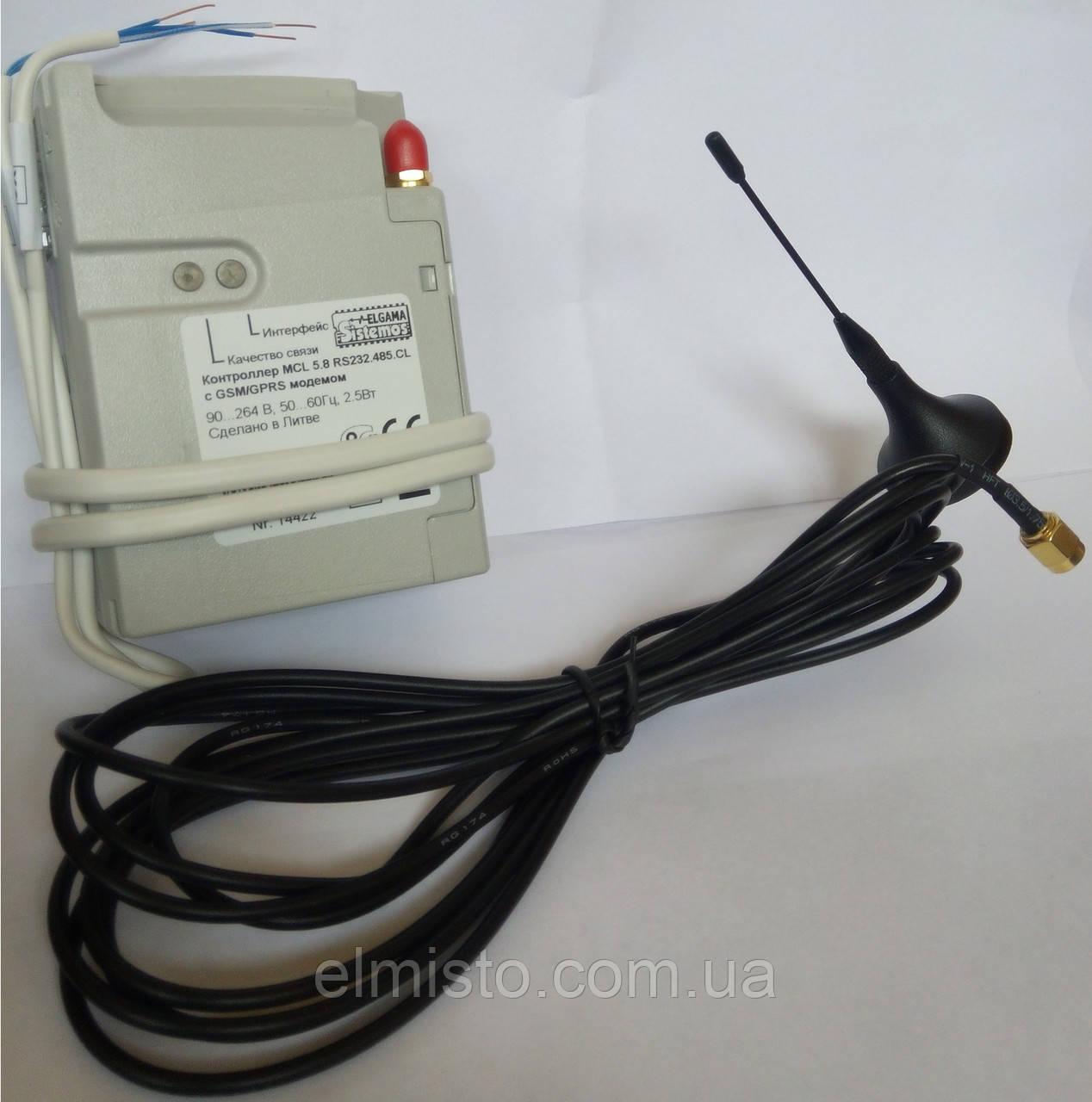 Контроллер MCL 5.10 RS232.485.CL (Elgama-Elektronika) с внутренним GSM / GPRS модемом к счетчикам GAMA 300 - ЭлМисто, предприятие в Харькове