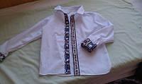 Рубашка с декоративной отделкой.в украинском стиле