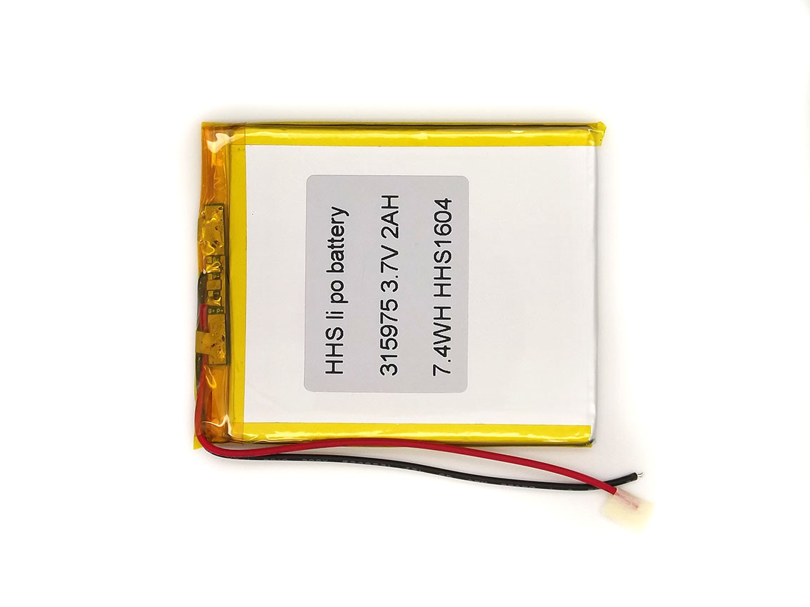 2000mAh 3.7v 315975 Аккумулятор