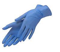 Перчатки Нитрил голубые упаковка 100шт Премиум серия