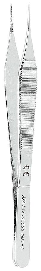 Пинцет хирургический прямой MICRO-ADSON 15 см Asa Dental (Италия) NaviStom