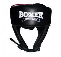 Шлем боксерский кожаный Boxer