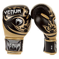 Боксерские перчатки Venum Tribal Boxing Gloves Black/Gold