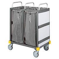 Tележка  для отеля Equipe для транспортировки белья 2 x 120 л гостиничная тележка