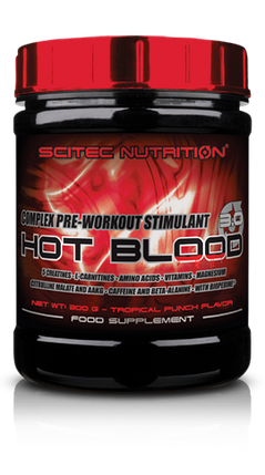 Hot Blood 3.0 Scitec Nutrition, фото 2