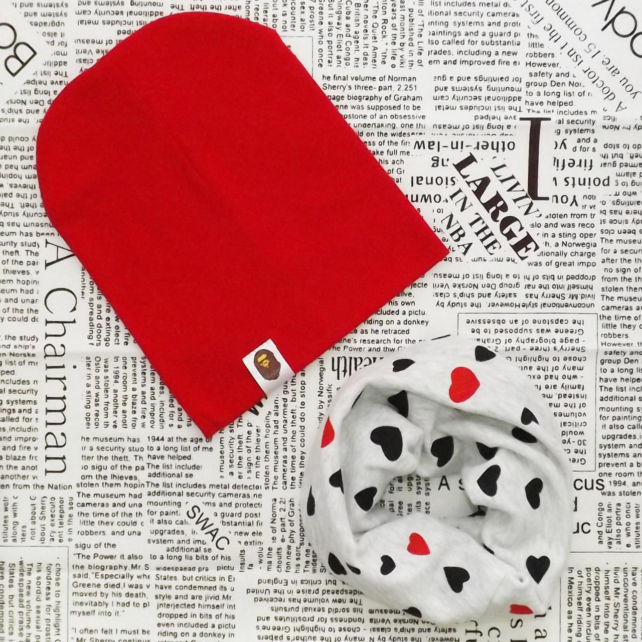 Комплект: детская шапка Варе и хомут