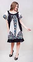 Легкое платье с красивым рисунком