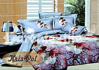 Комплект постельного белья ТМ KRIS-POL (Украина) ранфорс полуторный 4818457