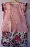 Комплект BIP Комбенизон+футболка Для девочек 6961 Flexi Турция, фото 4