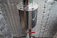 Емкость для нагревания воды для мобильной бани
