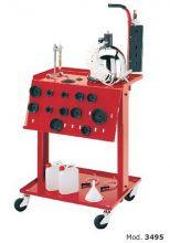 Пневматическая установка для замены тормозной жидкости в комплекте :