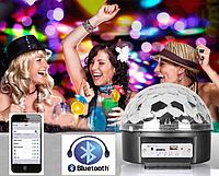 Диско шар (музыкальный проектор) M6 + bluetooth