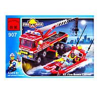 Конструктор Brick Пожарная машина 907