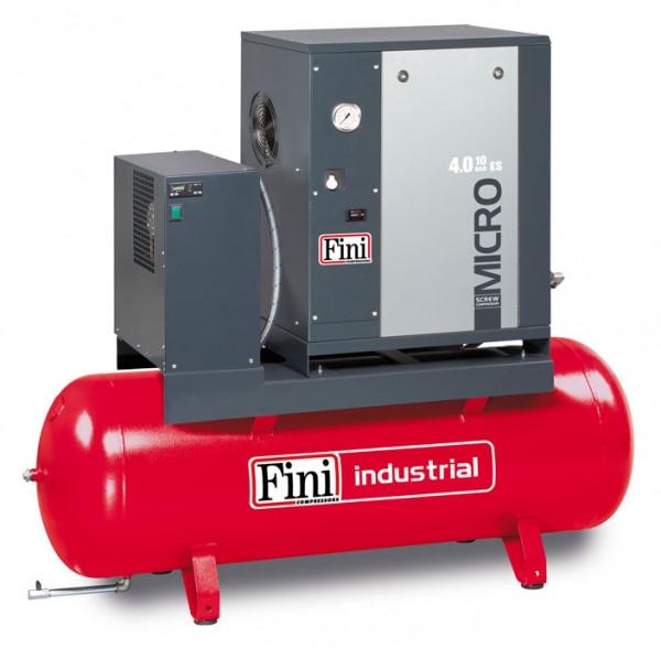 MICRO SE 4.0-10-200 ES - Компрессор роторный с осушителем 485 л/мин