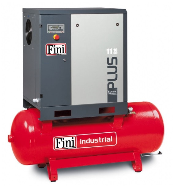 PLUS 11-08-500 - Винтовой компрессор 1650 л/мин