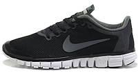 Мужские кроссовки Nike Free Run 3.0 V2 Black, найк