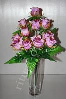 Искусственный букет из бутонов роз № 401