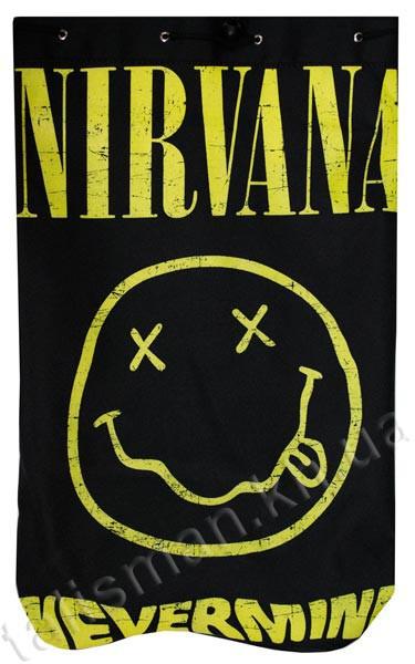 NIRVANA - Nevermind (смайл)- рюкзак