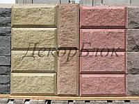 Блок декоративный 400х200х100  4ф для забора, фото 1