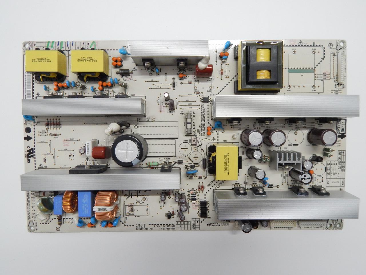Power Supply eax40157601/17 eay4050520 eay4050530