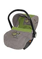 Автомобильное кресло для ребенка LIFESAVER Beige&Green Planet