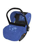 Автомобильное кресло для ребенка LIFESAVER Blue&Black World
