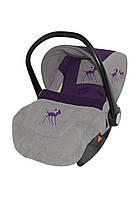 Автомобильное кресло для ребенка LIFESAVER Violet Miss Bambi