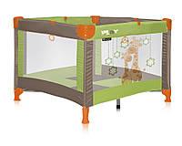 PLAY Green&Beige GIRAFFES манеж игровой
