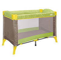 ARENA 1 Layer Green&Beige Puppies манеж игровой