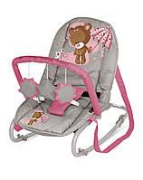 TOP RELAX BEIGE&PINK BEAR кресло-качалка