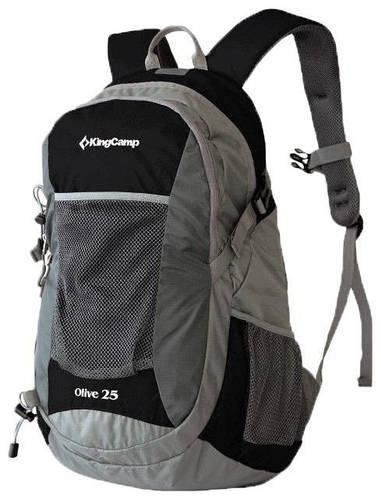 Повседневный молодежный рюкзак 25 л. KingCamp OLIVE KB3307 (94156) черный