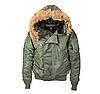 Зимняя укороченая куртка парка N-2B Alpha Industries (оливковая)