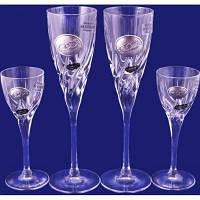 Набор: 2 свадебных бокала для шампанского, в подарочной коробке Suggest. арт.PB255945D