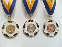 Медаль ММС5150  фтб/мяч  металл d-5 см.