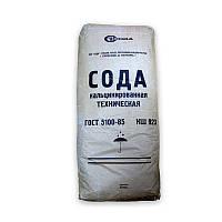 Сода кальцинированная, карбонат натрия, 25 кг