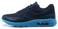 Мужские кроссовки Nike Air Max 1 Ultra Moire Easy Blue, найк