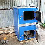 Котел із газифікацією деревини (піролізний котел)APSS 90 Потужністю 90 квт, фото 5