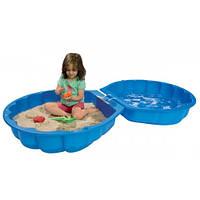 Детская Песочница-бассейн Ракушка Big Smoby 77110