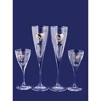 Набор: 2 свадебных бокала для шампанского и 2 рюмки для водки, в подарочной коробке Suggest. арт.PC1348O987D