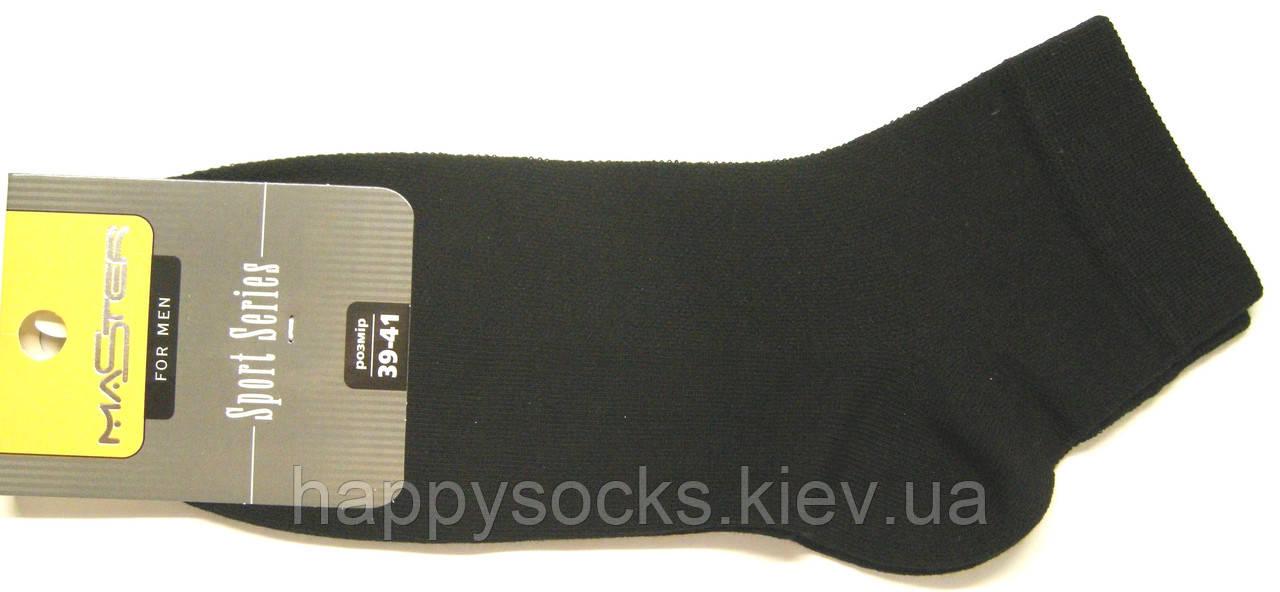 Носки в сетку короткие мужские черные