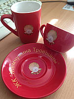 Чашечки с логотипом заказчика