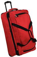 Качественная дорожная сумка 137 л. Members Expandable Wheelbag Extra Large 115/137, 922558 красный