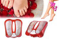 Инфракрасный роликовый массажер для ног Infrared Kneading Foot Massager