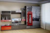 Комплект мебели со встроеной кроватью в шкаф, фото 1