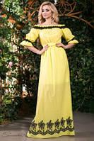 Эффектне длинное женское платье ,доставка по Украине