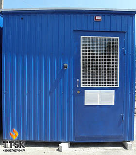 Транспортабельная котельная установка на твердом топливе TTSK мощностью 250 квт