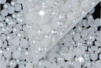 Жемчуг для дизайна ногтей, 2 мм, 100 штук,  Харьков